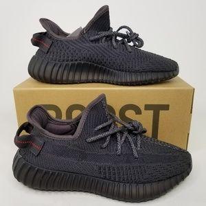 adidas Yeezy Boost 350 V2 Shoes Triple Black 6 NR